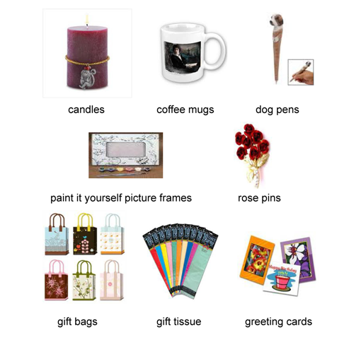 Novelty Items SM